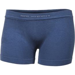 Brubeck Comfort Cotton Junior Bokserki chłopięce niebieskie indygo