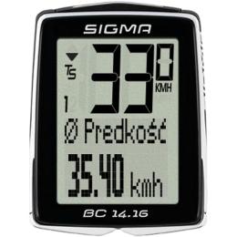 Sigma BC 14.16 Licznik rowerowy 14 funkcji