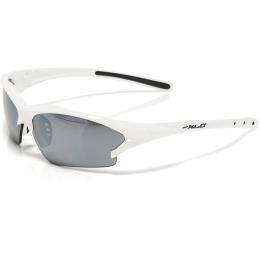 XLC SG C08 Jamaica okulary rowerowe z wymiennymi soczewkami biało srebrne