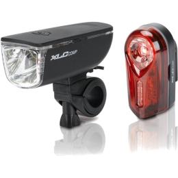 XLC CL S11 Ariel + Neso zestaw lampek rowerowych LED