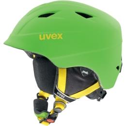 Uvex Airwing 2 Pro Dziecięcy kask narciarski snowboard zielony 2019