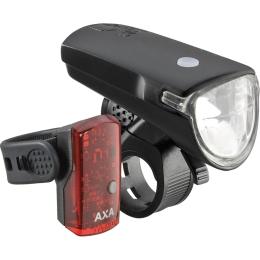 AXA Greenline 15 Zestaw lampek przód tył 15 lux