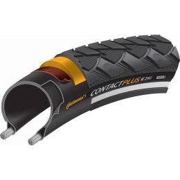 "Continental Contact Plus 28"" SafetyPlus Opona rowerowa drutowa Reflex E-bike"