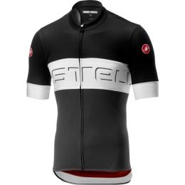 Castelli Prologo VI Koszulka rowerowa czarno biała