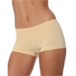 Brubeck Comfort Cotton Bokserki damskie beżowe