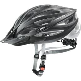 Uvex Oversize Kask rowerowy MTB black mat silver