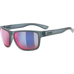 Uvex LGL 36 Colorvision Okulary casual grey mirror plasma daily