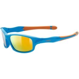 Uvex Sportstyle 507 Okulary przeciwsłoneczne dla dzieci blue orange mirror orange