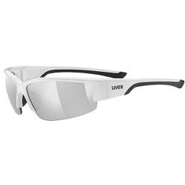 Uvex Sportstyle 215 Okulary sportowe white black litemirror silver