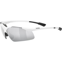 Uvex Sportstyle 223 Okulary sportowe white litemirror silver