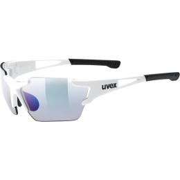 Uvex Sportstyle 803 Race VM Small Okulary sportowe white litemirror blue