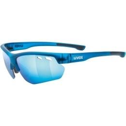 Uvex Sportstyle 115 Okulary sportowe z wymiennymi szkłami blue mat