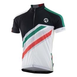 Rogelli Team Koszulka rowerowa z krótkim rękawem biała 2019