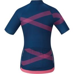 Shimano Team Koszulka z krótkim rękawem damska navy