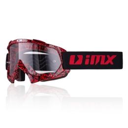 IMX Mud Graphic Gogle Czerwone