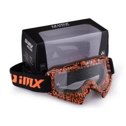 IMX Mud Graphic Gogle Pomarańczowe