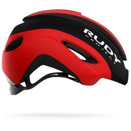 Rudy Project Volantis Kask Szosowy triathlon Black red matte