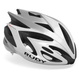 Rudy Project Rush Kask szosowy MTB white silver shiny