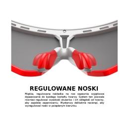 Rudy Project Rydon RP Optics Okulary szosowe triathlon MTB biegowe granatowo niebieskie