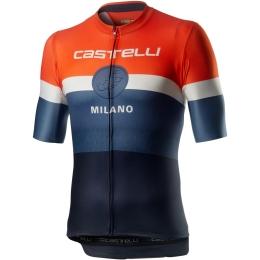Castelli Milano Koszulka rowerowa dark steel blue
