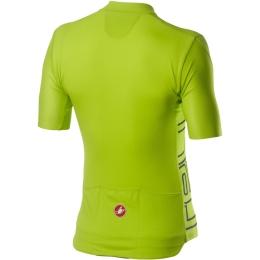 Castelli Entrata V Koszulka rowerowa chartreuse