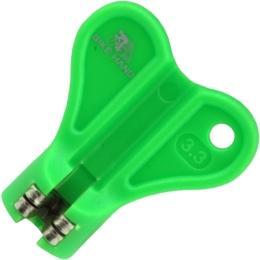 Bike Hand YC 1R 2 Klucz do szprych 3.3mm zielony
