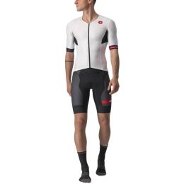 Castelli Free Sanremo 2 Strój triathlonowy biało czarny