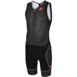 Castelli Free Sanremo Strój triathlonowy bez rękawów czarny