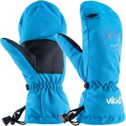 Viking Kids Smaili Rękawice narciarskie dziecięce niebieskie