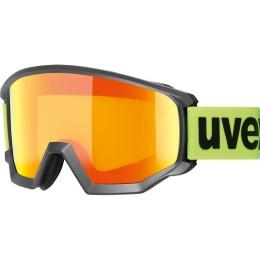 Uvex Athletic CV Gogle narciarskie colorvision black orange