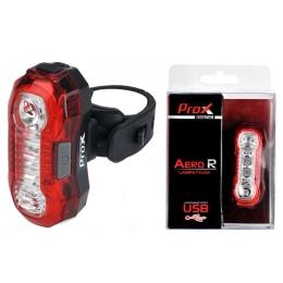 ProX Aero R Lampka rowerowa tylna 5x LED 40 Lm aku USB