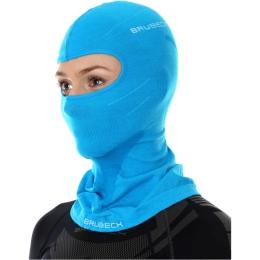 Brubeck Kominiarka termoaktywna merino błękitna