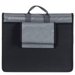 Basil Urban Load Messenger Bag Torba rowerowa szara 17L