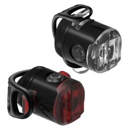 Lezyne LED Femto Drive USB Pair Zestaw lampek 15lm aku