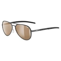 Okulary przeciwsłoneczne Uvex LGL 30 Pola brązowe