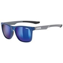 Okulary przeciwsłoneczne Uvex LGL 42 niebieskie