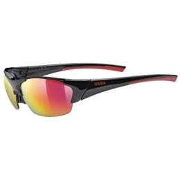 Uvex Blaze III 2.0 Okulary sportowe black red