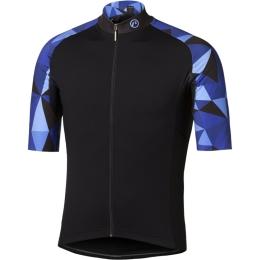 Accent Mosaic Koszulka niebiesko czarna