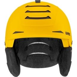 Kask narciarski snowboardowy Uvex Legend Pro żółty