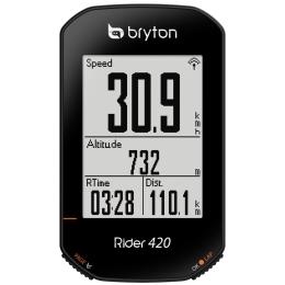 Bryton Rider 420E Licznik rowerowy komputer 80 funkcji