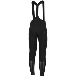 Rogelli Halo Spodnie na szelkach z wkładką czarne