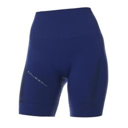 Brubeck Gym Legginsy z krótką nogawką damskie ciemnoniebieskie