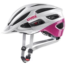 Uvex True CC Kask Biało Różowy