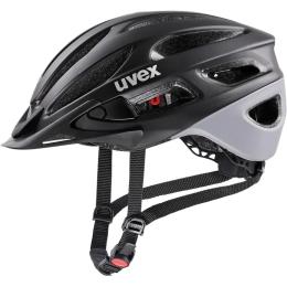 Uvex True CC Kask Czarno Szary