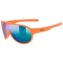 Uvex Sportstyle 512 Okulary Pomarańczowe