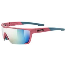 Uvex Sportstyle 707 Okulary Różowo Niebieskie