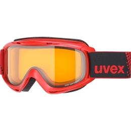 Uvex Slider LGL Gogle narciarskie red lasergold lite clear