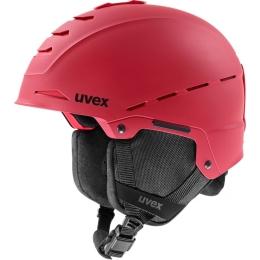 Kask narciarski snowboardowy Uvex Legend Pro czerwony