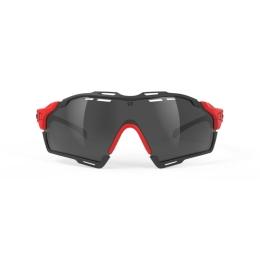 Rudy Project Cutline Okulary Czarno Czerwone
