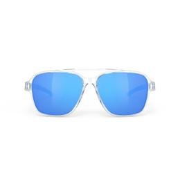 Rudy Project Croze Okulary Biało Niebieskie